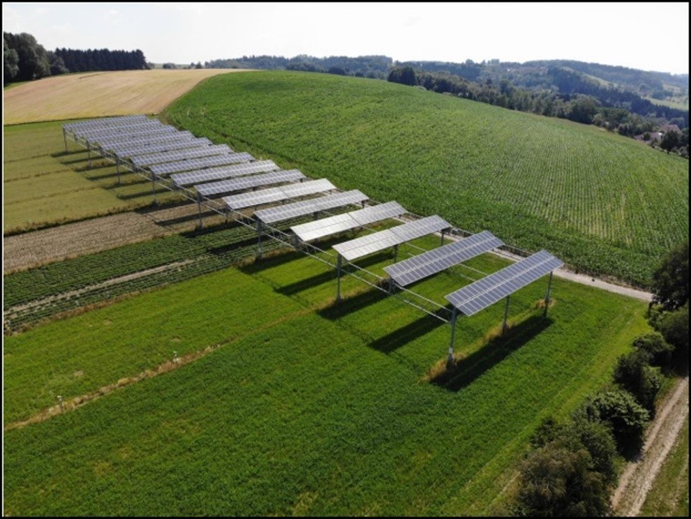 Agriphotovoltaic Example_New Energy