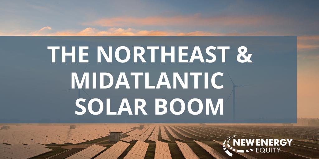 NE and MA Solar Boom