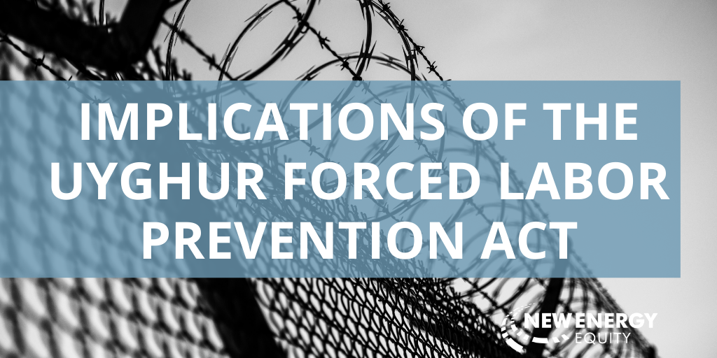Implications of the Forced Labor Act