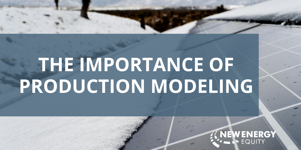 Importance of Production Modeling